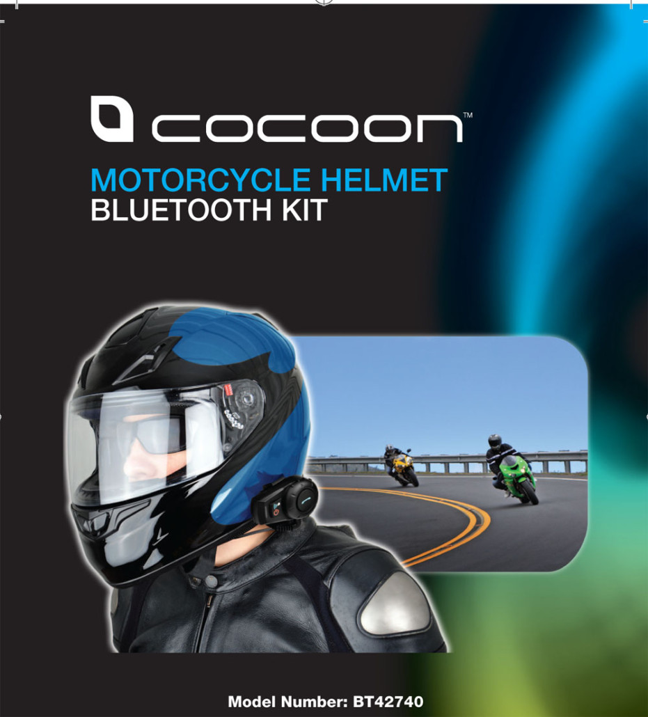 Motorcycle gloves in nepal - Cocoon Motorcycle Helmet Bluetooth